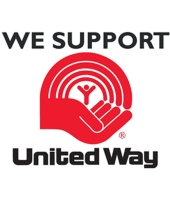 WE SUPPORT UNITED WAY