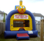 Inflatable Rentals  Charlie the ChoochooAll aboard for a jumping good time. If your child likes Thomas the Train, then Charlie the ChooChoo will be sure hit.  $155/$175/$195 (4/6/8 hrs respectively) 13'(W) x 13'(L) x 20'(H)